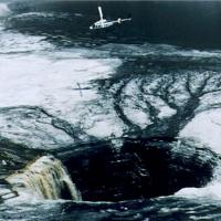 Sinkhole at a Phosphate Gypsum Stack