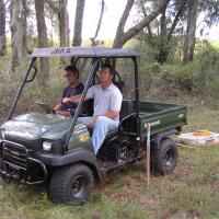 GPR Survey with an all-terrain vehicle