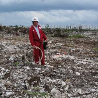 EM-34 Survey for Weathered Limestone (Bahamas)