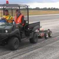 Using GPR on an Airport Runway