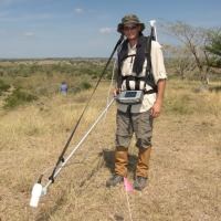 Magnetometer Study for pre-Columbian Artifacts