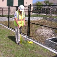 Using a Pipehorn to Locate Underground Conduits