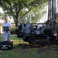 GPR and SPT borings, Plant City, Florida