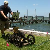 GPR to Locate Seawall Tiebacks