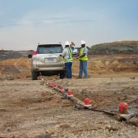 MASW survey to help map the Miraflores Fault along the Panama Canal