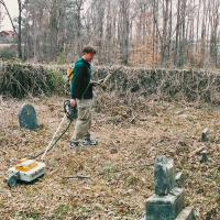 GPR Survey of an Historic Cemetery (Alabama)