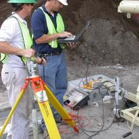 Borehole GPR Data Collection