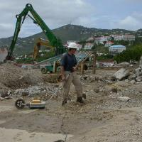 GPR Survey in St. Thomas for USTs