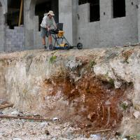 GPR survey for shallow voids within the limestone - Domincan Republic