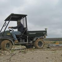 GPR survey at a mine