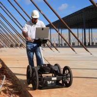 GPR to Map Rebar and Concrete Thickness
