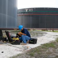 Electrical Resistivity Image (ERI) Survey Using a Sting/Swift R8at an Oil Storage Facility (Bahamas)