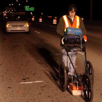 GPR Survey to Determine the Cause of a Depression in a Roadway