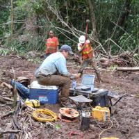Seismic Refraction Survey - Panama