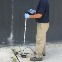 Impact Echo Survey to identify defects in the concrete